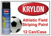 Krylon Industrial Line-Up 00463 Athletic Black Paint