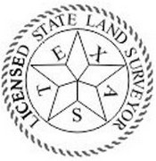 Texas State Surveyor Stamp