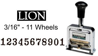 Lion A-11 Numbering Machine