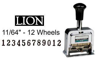 Lion A-21 Numbering Machine