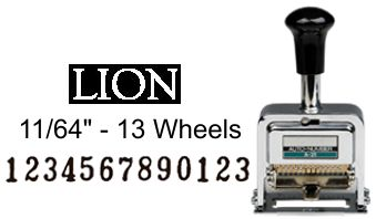 Lion Numbering Machine