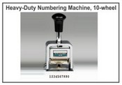 Lion Numbering Machine B-37 Lion 10 Wheel, 3 Movement