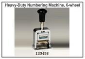 Lion Numbering Machine Lion C71, 6 Wheels, 7 Movements