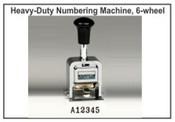 Lion Numbering Machine Lion C75, 6 Wheels, 7 Movements