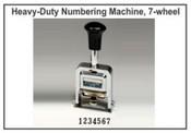 Lion Numbering Machine Lion C77, 7 Wheels, 7 Movements