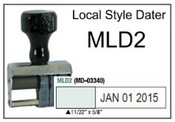 Local Style Dater (MLD1) (MLD2) Local Style Dater