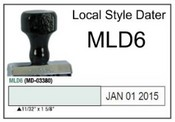 (MLD5) Local Style Line Dater Justrite (MLD5) Local Style Line Dater