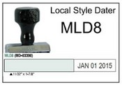 (MLD8) Local Style Line Dater Justrite (MLD8) Local Style Line Dater