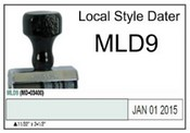 (MLD9) Local Style Line Dater Justrite (MLD9) Local Style Line Dater