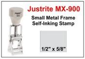 Justrite Plain Self-Inking MX-900 Stamp