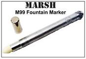 M99 Marsh Refillable Marker Felt-Tip Marker