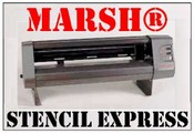 MARSH® Stencil Express Electronic Stencil Cutter