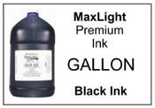 MAXLIGHT Premium Black Ink, Gallon
