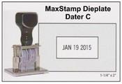 Millennium Die Plate Dater, Size C