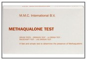 MMC Methaqualone Test - 10 ampoules/box