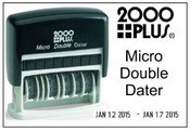 2000 Plus Micro Double Dater