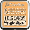 My First ColorBox® Mini Stamps, Dinos
