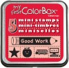 My First ColorBox® Mini Stamps, School