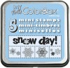 My First ColorBox® Mini Stamps, Snowflakes