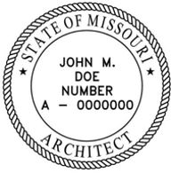 Missouri Architectural Stamp