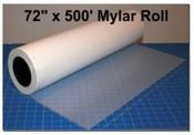 """Plastic Mylar 72"""" x 500' x 10 Mil Thick Roll"""