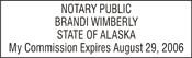 Notary Stamp Alaska Notary Stamp