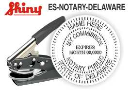 Delaware Notary Embosser