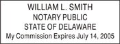 Notary Stamp Delaware Self-Inking Notary Stamp Delaware Notary Stamp Delaware Public Notary Stamp Public Notary Stamp