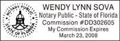 Notary Stamp Florida Notary Stamp
