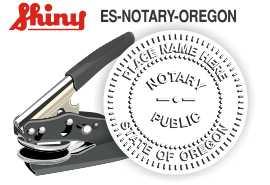 Oregon Notary Handheld Embosser Oregon State Notary Public Embossing Seal Oregon Notary Public Embossing Seal Oregon Notary Seal Notary Public Seal