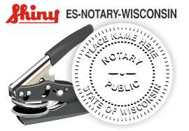 Wisconsin Notary Embosser