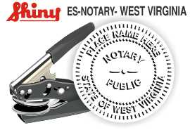 West Virginia Notary Embosser
