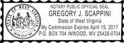 Notary Stamp West Virginia Self-Inking Notary Stamp West Virginia Notary Stamp West Virginia Public Notary Stamp Public Notary Stamp