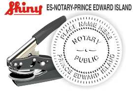 Prince Edward Island Notary Embosser