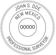 New Mexico State Surveyor Stamp