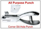 Corner Punch Slit Hole