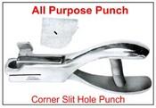 Corner Punch Slit Hole