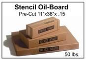 "Stencil Board - 11"" x 36"" - 50 lb pak, 200 Sheets"