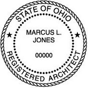 Ohio Architectural Stamp