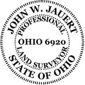 Ohio State Surveyor Stamp