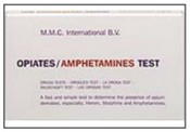 MMC Opiates/Amphetamine Test - 10 ampoules/box