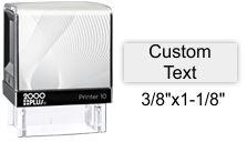 2000 Plus P-10 Self Inking Printer New 2000Plus P10 2000 Plus P10 P10 2000 Plus