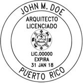 Puerto Rico Architectural Stamp