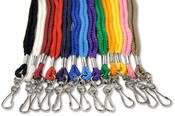 Round Lanyard with Swivel Hook - 1/4""