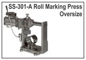 Model 301 Oversize Roll Marking Press
