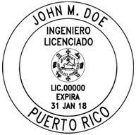 Puerto Rico Engineering Stamp