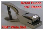 "Retail Punch Retail Hand Punch, 1-1/2"" Reach"