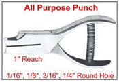 """#45 All Purpose Punch, 1"""" Reach, Single Figures"""