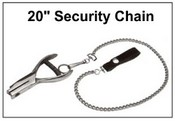 "20"" SECURITY CHAIN with Belt Loop"