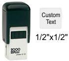 2000 Plus Printer Q-12 Self Inking Stamp Self Inking Stamp
